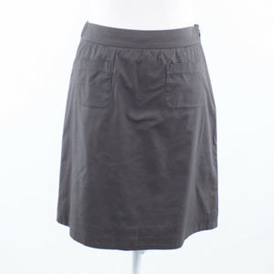 Gray cotton blend ANTHROPOLOGIE MAEVE A-line skirt 0