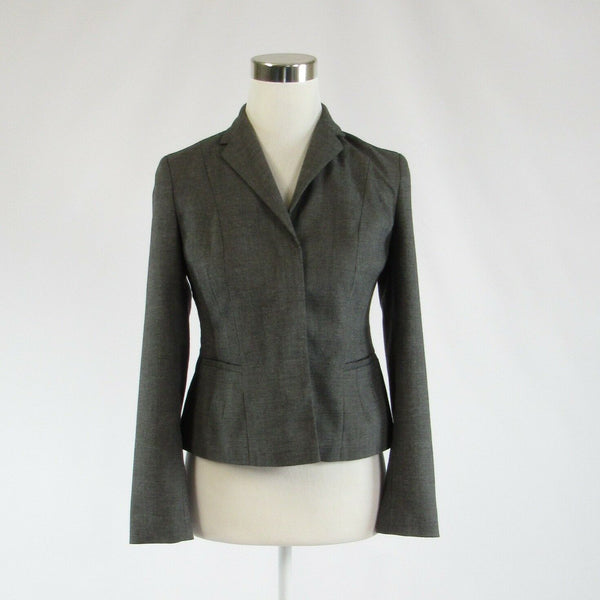 Charcoal gray ANN TAYLOR long sleeve jacket 2P-Newish