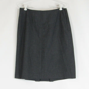 Gray BANANA REPUBLIC A-line skirt 10
