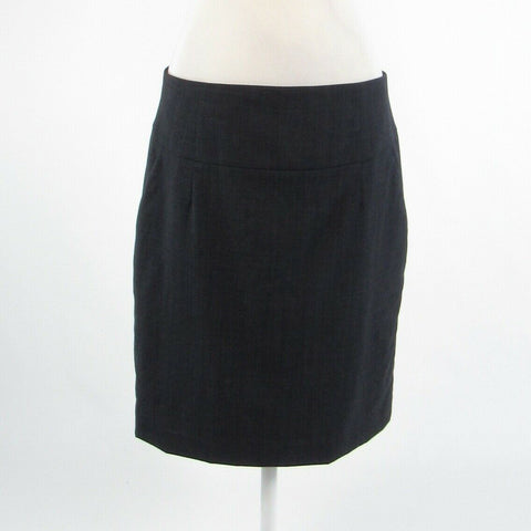 Charcoal gray wool blend BANANA REPUBLIC pencil skirt 14-Newish