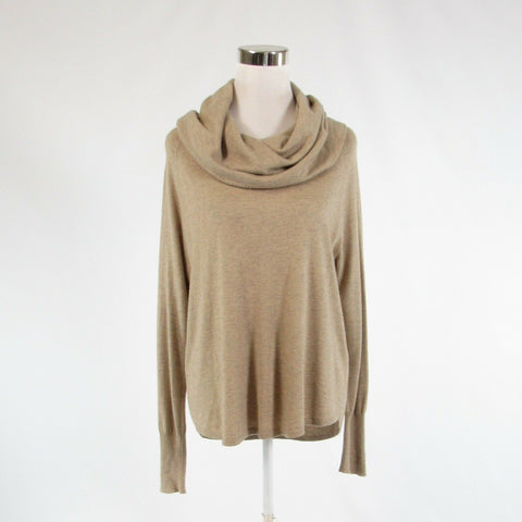 Beige JOIE long sleeve cowl neck sweater XS