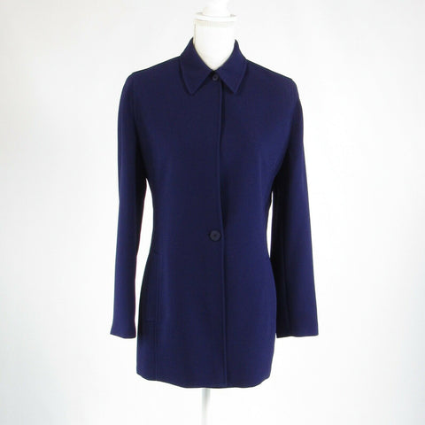 Purple EMANUEL Emanuel Ungaro long sleeve peacoat 6