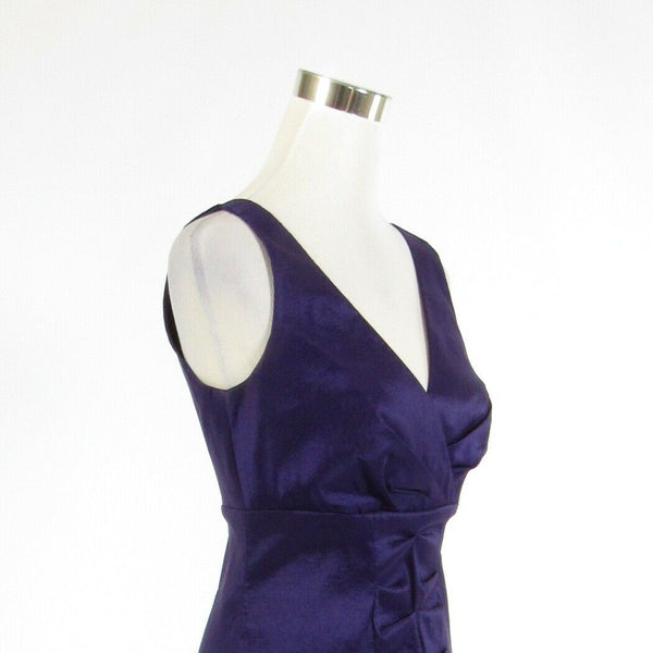 Purple CALVIN KLEIN stretch sleeveless sheath dress 6-Newish