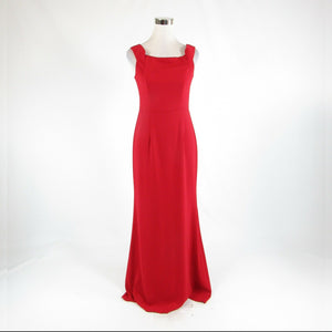 Red CARMEN MARC VALVO Infusion sleeveless maxi dress 4