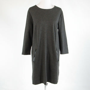 Charcoal gray PHILOSOPHY shift dress L