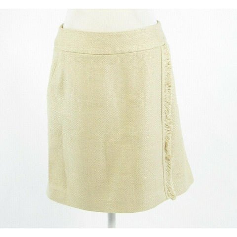 Beige tweed AKRIS pencil skirt M-Newish