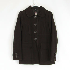 Brown 100% cotton GAP peacoat S