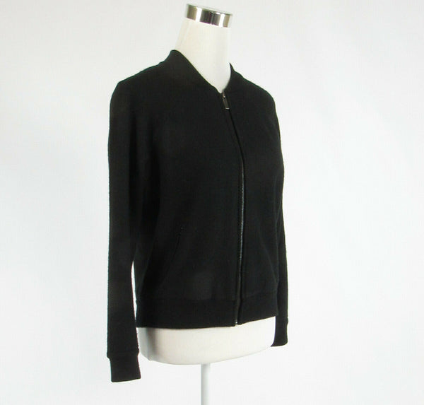 Black tweed ANN TAYLOR LOFT stretch long sleeve jacket XS-Newish