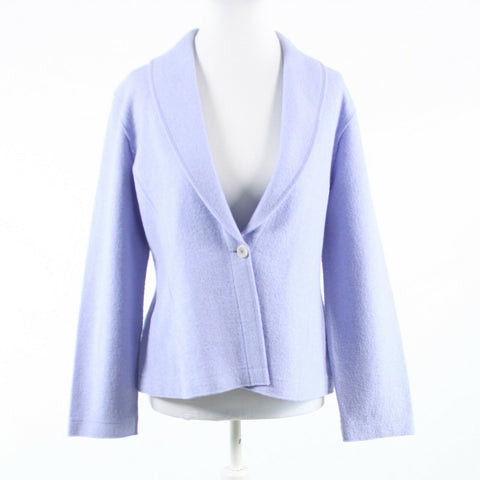 Lavender purple wool blend EILEEN FISHER long sleeve jacket S