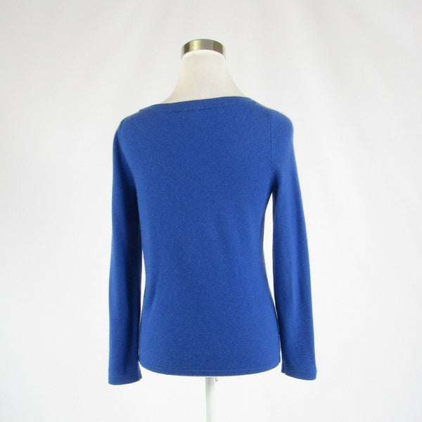 Dark blue 100% cashmere TALBOTS long sleeve crewneck sweater S-Newish