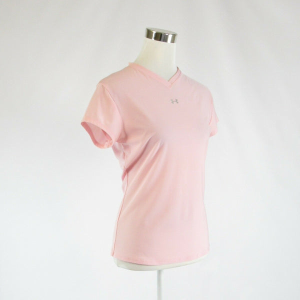 Light pink UNDER ARMOUR stretch short sleeve blouse XL-Newish