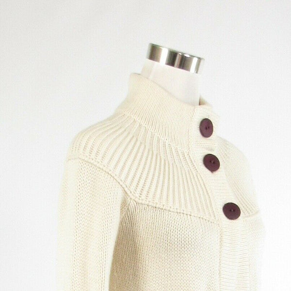 Ivory purple KENNETH COLE REACTION bell sleeve cardigan sweater XS-Newish