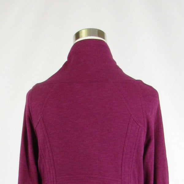 Dark pink 100% cotton FOSSIL 3/4 sleeve jacket M-Newish