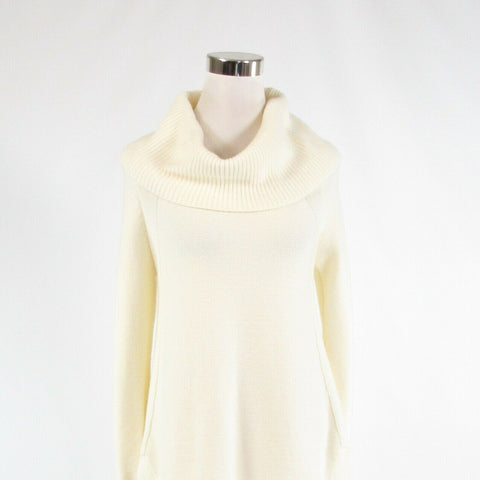 Cream ANTHROPOLOGIE MOTH long sleeve cowl neck sweater XS NWOT