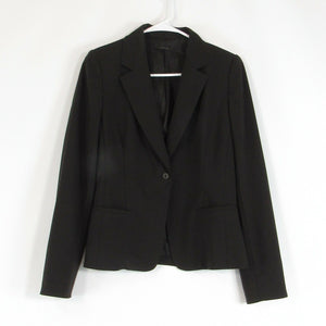 Black ELIE TAHARI stretch blazer jacket M