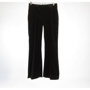 Black cotton blend STRENESSE bootcut jeans 2