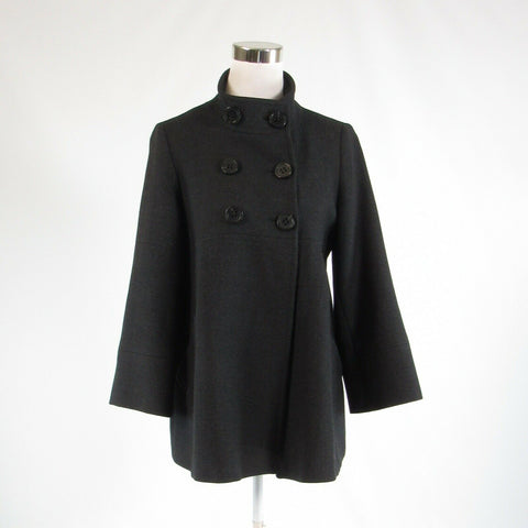Charcoal gray 100% wool PABLO GERARD DAREL long sleeve peacoat IT40 6P