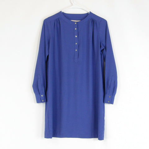 Periwinkle blue ANN TAYLOR LOFT shift dress PXS