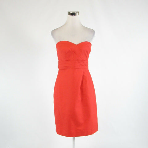 Orange 100% cotton J. CREW sheath dress 6 NWT-Newish