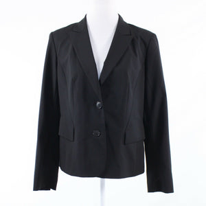 Black LAFAYETTE 148 long sleeve blazer jacket 10