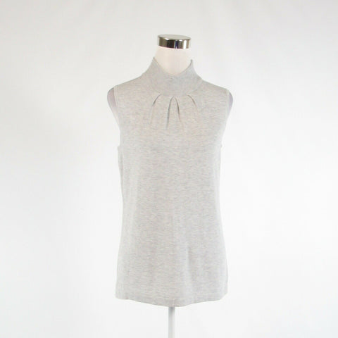 Heather gray JOSEPH A. sleeveless vest sweater L NWT $48.00