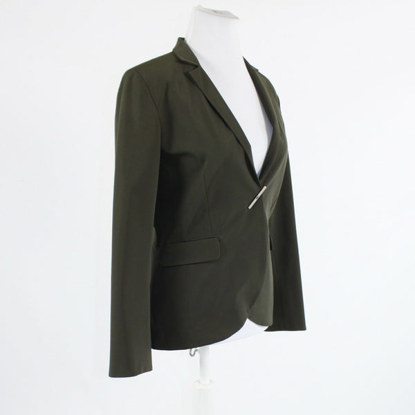 Green snap front TEENFLO MAURICE TARICA long sleeve jacket 6