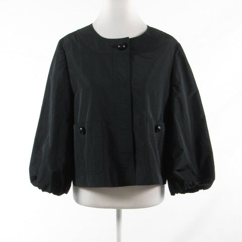 Black ECCOCI 3/4 sleeve single button jacket 12