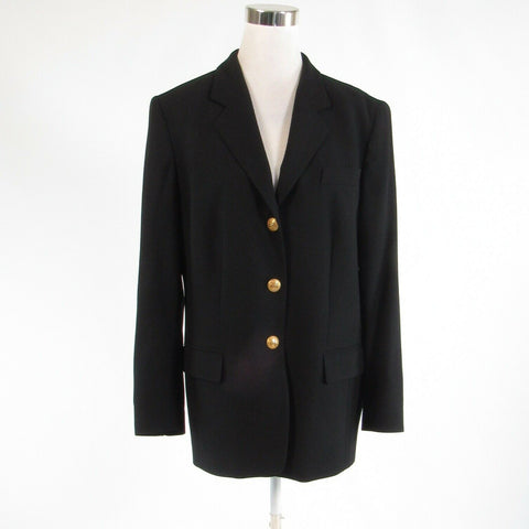Black MONDI FASHION long sleeve blazer jacket FR44 14