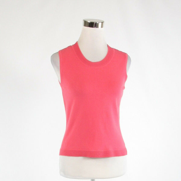 Pink TALBOTS stretch sleeveless tank top blouse PS-Newish