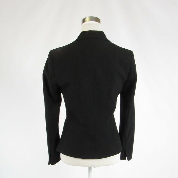 Charcoal gray TAHARI long sleeve blazer jacket 2P 38-Newish