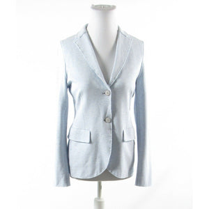 Light blue HARRIS WHARF LONDON long sleeve jacket IT44 10