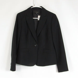 Black NINE WEST blazer jacket 8