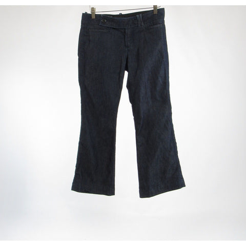 Rinsed indigo cotton BANANA REPUBLIC bootcut jeans 4P