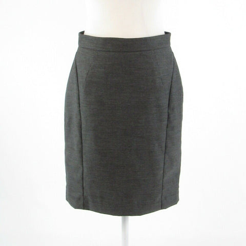Gray ANN TAYLOR pencil skirt 6P