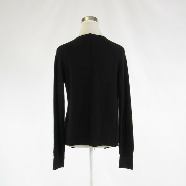 Black 100% cashmere ZADIG & VOLTAIRE long sleeve shrug sweater S-Newish