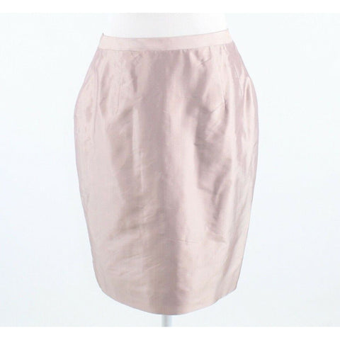 Light pink MARISA BARATELLI back slit pencil skirt 8 NWT-Newish