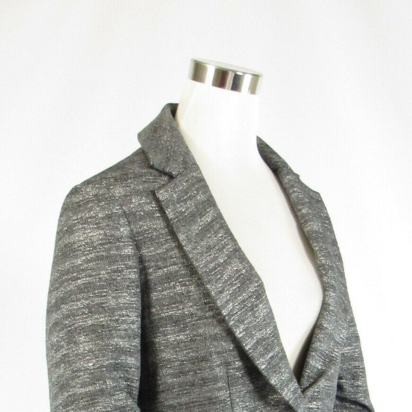Gray silver space dyed ANTHROPOLOGIE SHOSHANNA 3/4 sleeve jacket 6-Newish