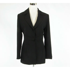 Black PRESTIJ long sleeve jacket IT40 6-Newish