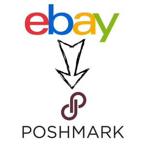 List eBay items on Poshmark-Newish