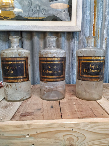 French Antique Apothecary Jars Interior design