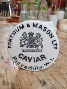 FORTNUM & MASON CAVIAR POT country kitchen