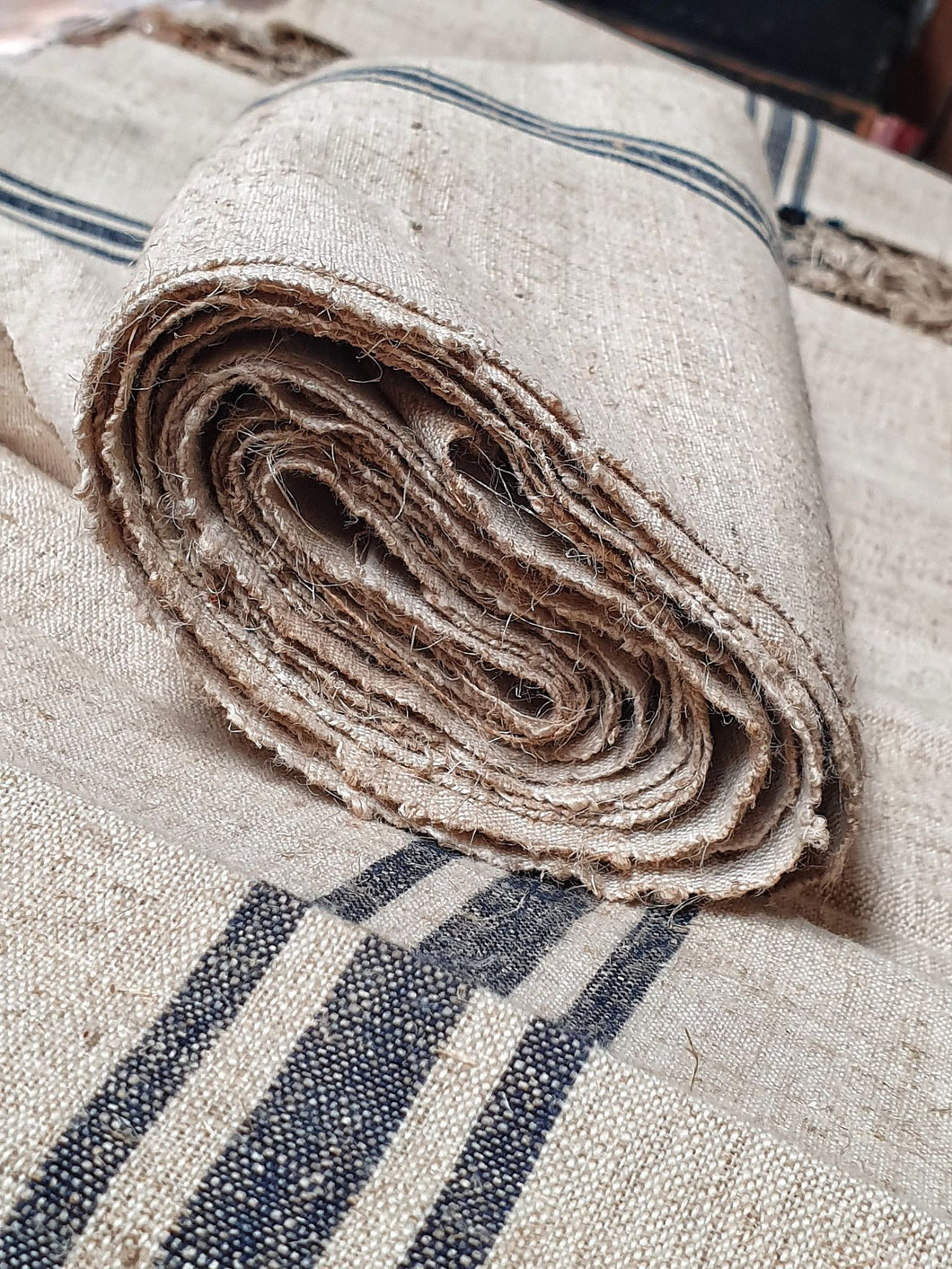 Hungarian Vintage Hand-Woven Linen
