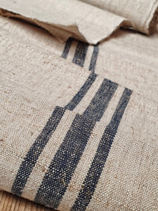 Hungarian Vintage Hand-Woven Linen country rustic Fabric perfect for home decor kitchen ideas