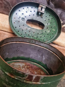 French Antique Minnow tin - Dusty Gems Interiors