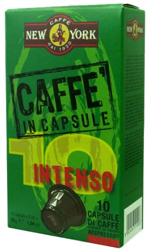 Caffe New York Intenso Nespresso® capsules - pack of 10