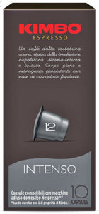 Kimbo Intenso Nespresso® compatible capsules - pack of 10