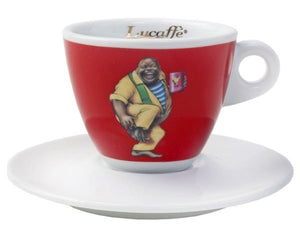 Lucaffe Cappuccino Cup - Red