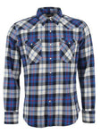 Camicia Levi's Barstow Western Long-Sleeved Blue Plaid