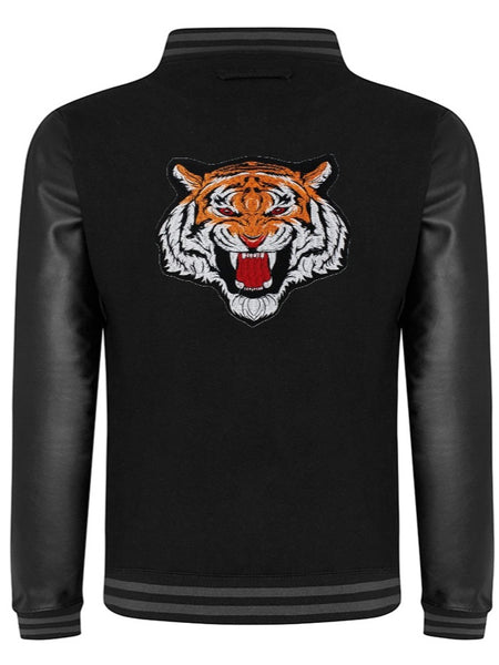 Varsity Jacket Tiger (Black- Sky Black)