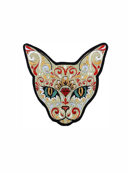 Toppa Patch Ricamata Diamond Cat